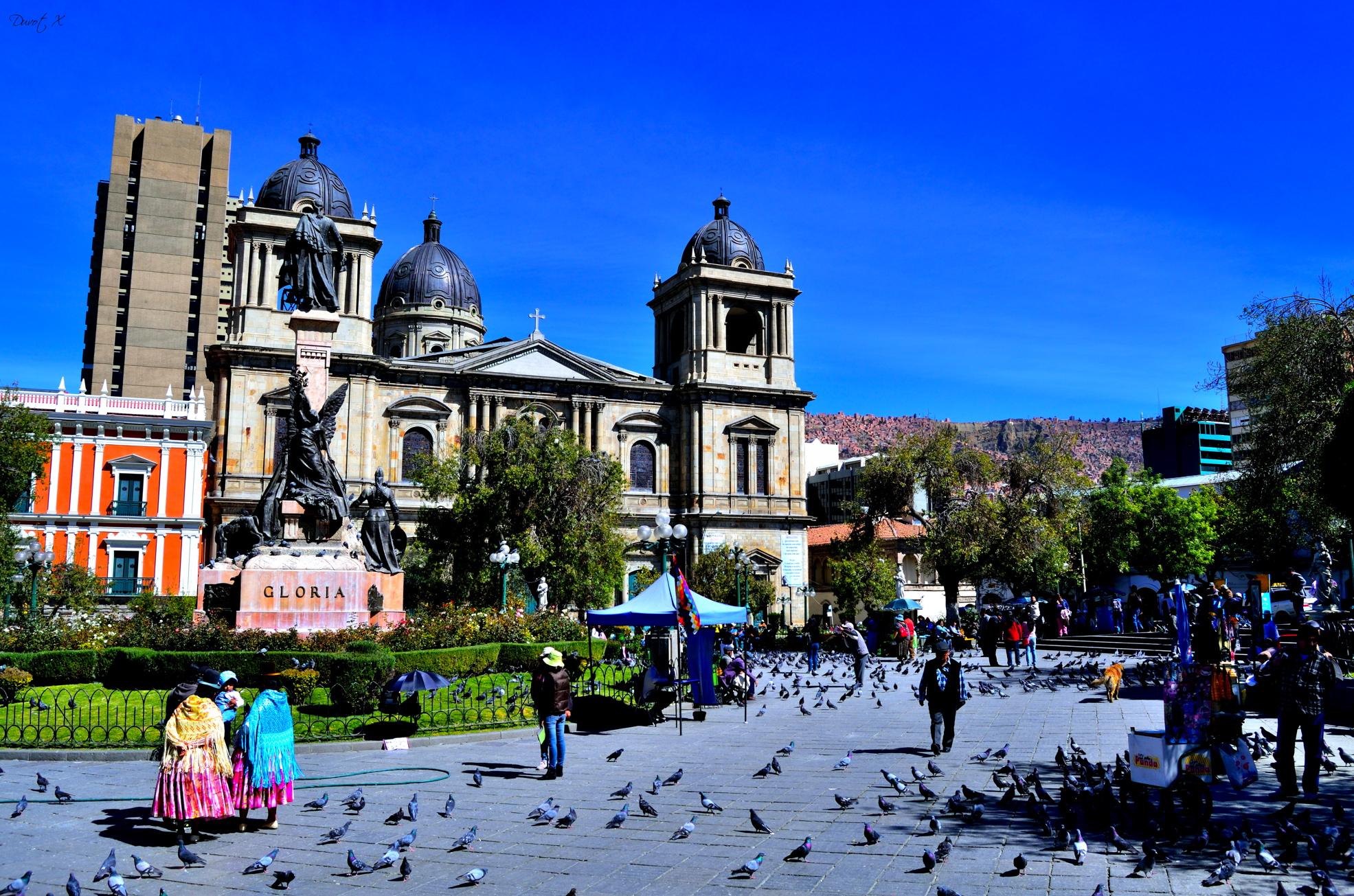 La Paz, Bolivie, ville du monde