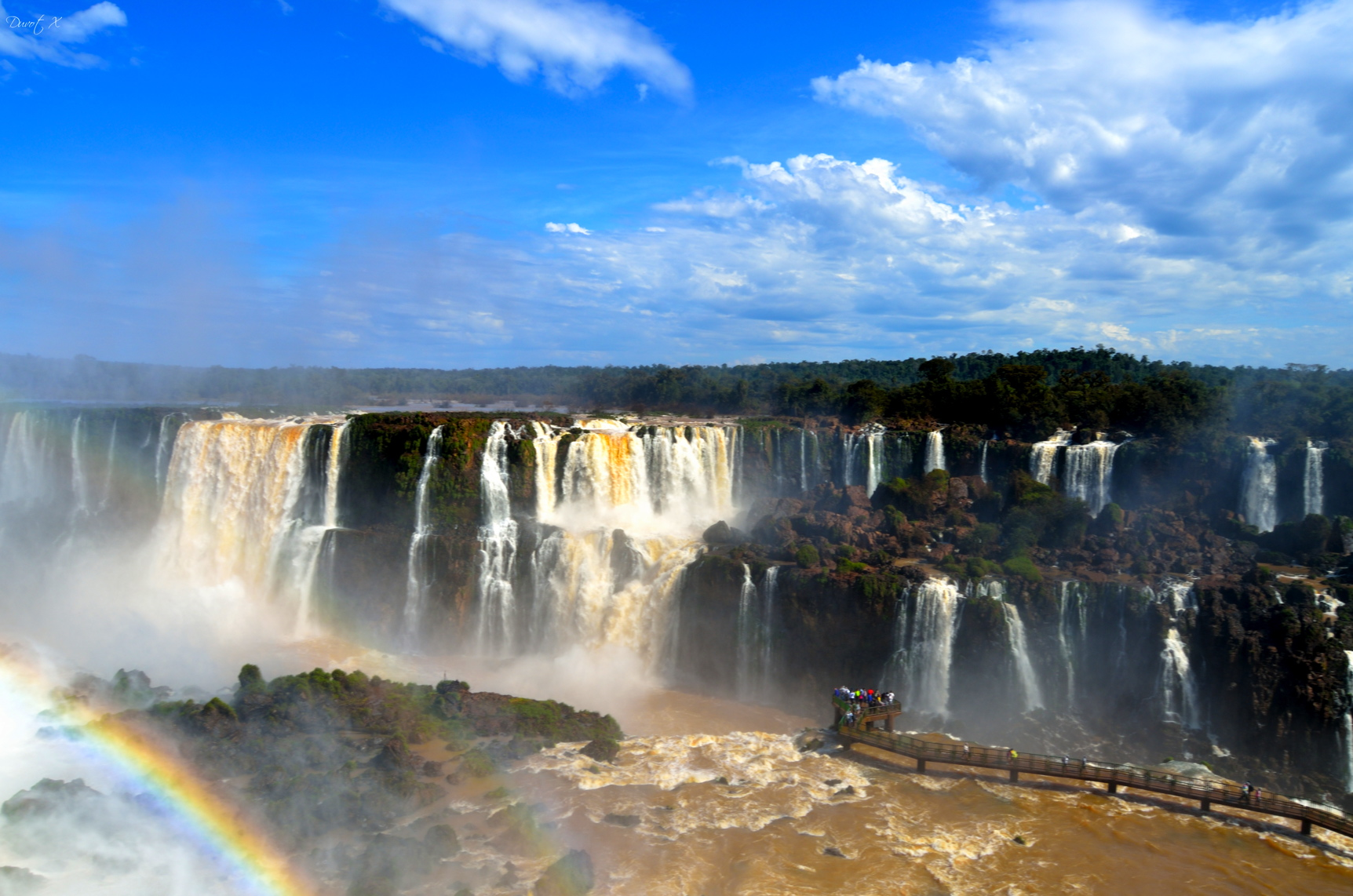 voyage au brésil, iguacu