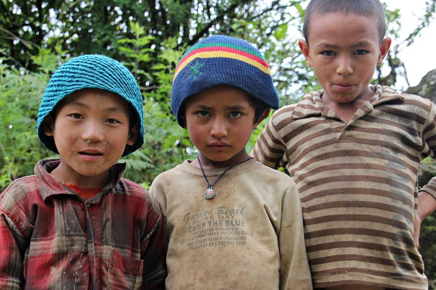 Interviews de voyageurs Child_in_Nepal