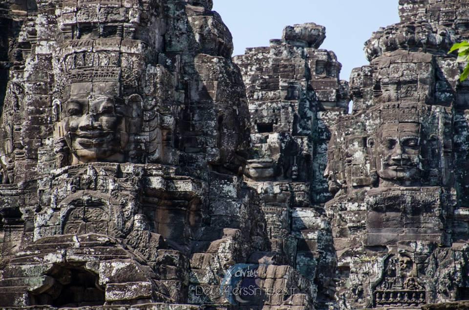 les temples d'angkor