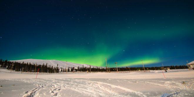 Un bout de magie avec des photos de la Laponie